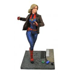 Captain Marvel Movie Premier Collection statuette Captain Marvel Diamond Select