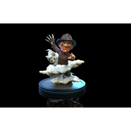 Nightmare On Elm Street figurine Q-Fig Freddy Krueger Quantum Mechanix