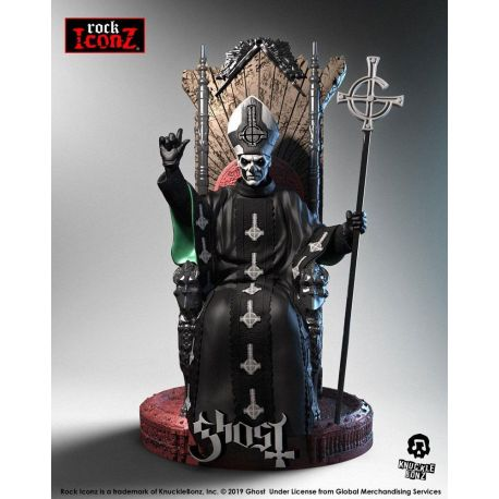 Ghost statuette Rock Iconz Papa Emeritus II Knucklebonz