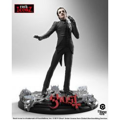 Ghost statuette Rock Iconz Cardinal Copia (Black Tuxedo) Knucklebonz