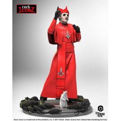 Ghost statuette Rock Iconz Cardinal Copia (Red Cassock) Knucklebonz