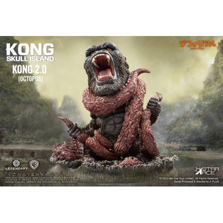 Kong Skull Island statuette Deform Real Series Soft Vinyl Kong 2.0 (Octopus) Star Ace Toys