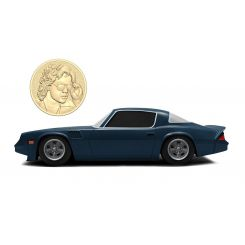 Stranger Things 1/24 Billy's 1979 Chevy Camaro Z28 métal avec pièce de collection Jada Toys