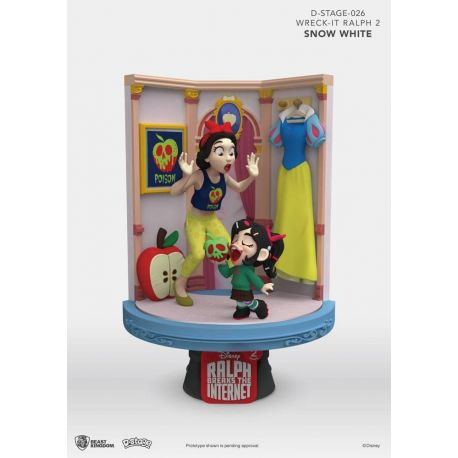 Ralph 2.0 diorama D-Stage Snow White & Vanellope Beast Kingdom Toys