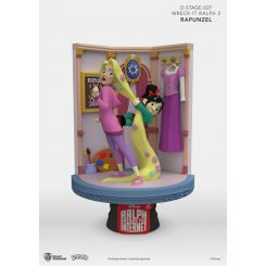Ralph 2.0 diorama D-Stage Rapunzel & Vanellope Beast Kingdom Toys
