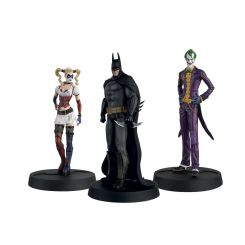 Batman Askham Asylum Hero Collection pack 3 figurines 1/16 10th Anniversary Box Eaglemoss Publications Ltd.