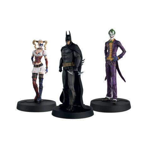 Batman Askham Asylum Hero Collection pack 3 figurines 1/16 10th Anniversary Box Eaglemoss Publications Ltd.