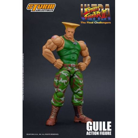 Ultra Street Fighter II The Final Challengers figurine 1/12 Guile Storm Collectibles