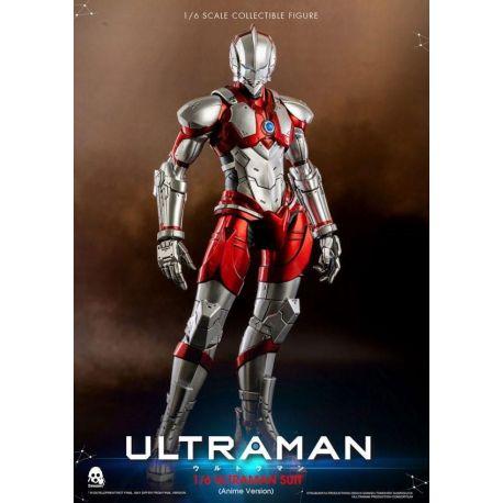 Ultraman figurine 1/6 Ultraman Suit Anime Version ThreeZero