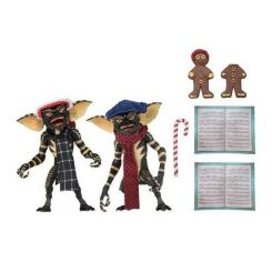 Gremlins pack 2 figurines Christmas Carol Winter Scene Set 1 Neca