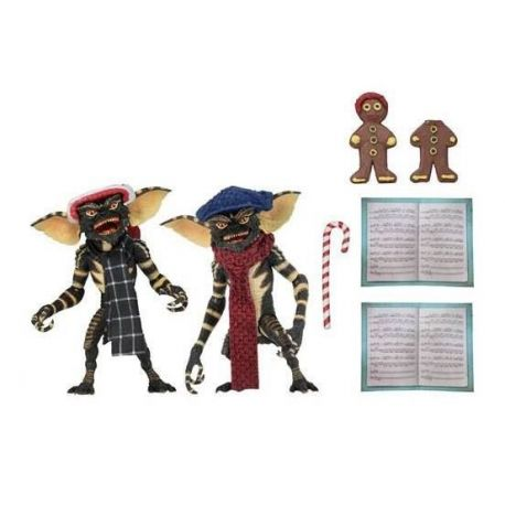 Gremlins pack 2 figurines Christmas Carol Winter Scene Set 1 Neca