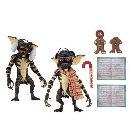 Gremlins pack 2 figurines Christmas Carol Winter Scene Set 2 Neca