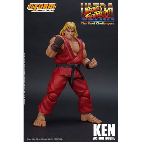 Ultra Street Fighter II The Final Challengers figurine 1/12 Ken Storm Collectibles