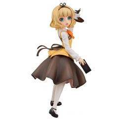 Is the Order a Rabbit figurine 1/7 Syaro (Cafe Style) Plum