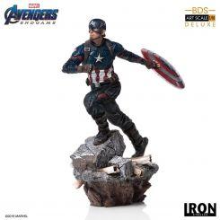 Avengers : Endgame statuette Deluxe BDS Art Scale 1/10 Captain America Iron Studios