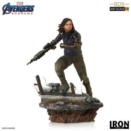 Avengers : Endgame statuette Deluxe BDS Art Scale 1/10 Winter Soldier Iron Studios