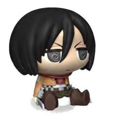 Attack on Titan tirelire Chibi Mikasa Plastoy