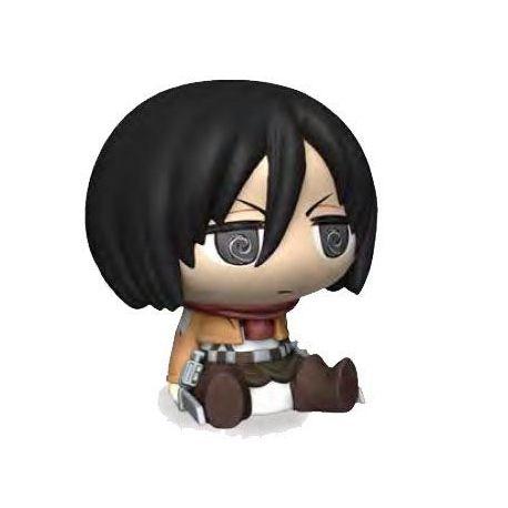 Attack on Titan tirelire Chibi Mikasa Plastoy