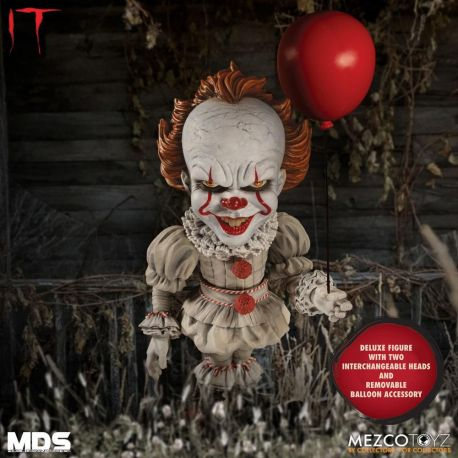 Il est revenu 2017 figurine MDS Deluxe Pennywise Mezco Toys