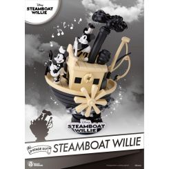Steamboat Willie diorama D-Stage Mickey & Minnie Beast Kingdom Toys