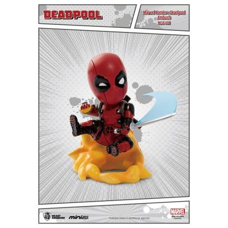 Marvel Comics figurine Mini Egg Attack Deadpool Ambush Beast Kingdom Toys