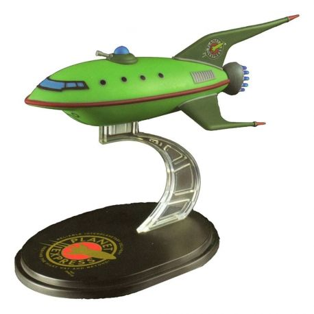 Futurama réplique Mini Masters Q-Fig Planet Express Ship LC Exclusive Quantum Mechanix