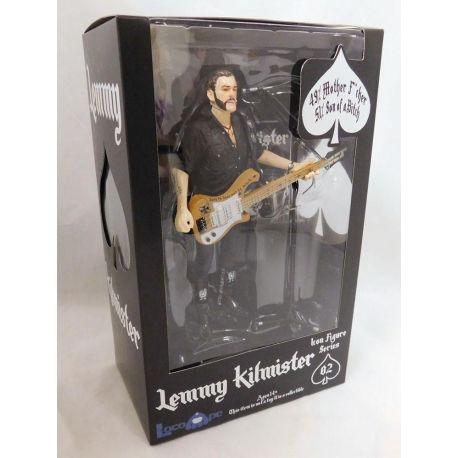 Motörhead figurine Lemmy Kilmister Rickenbacker Guitar Cross Loco Ape