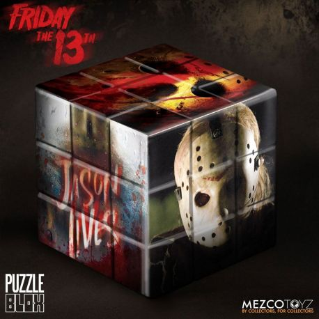 Vendredi 13 cube Puzzle Jason Voorhees Mezco Toys