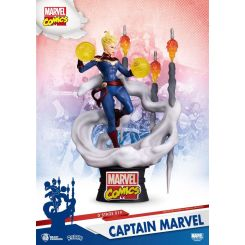 Marvel Comics diorama D-Stage Captain Marvel Beast Kingdom Toys