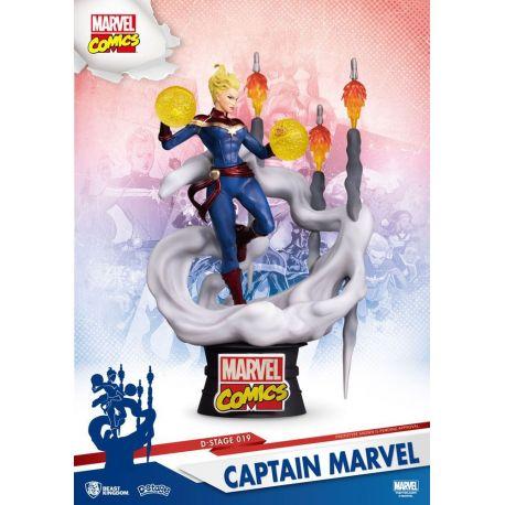 Marvel Comics diorama D-Stage Captain Marvel Beast Kingdom Toys