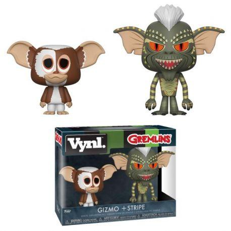 Gremlins pack 2 VYNL Vinyl figurines Gizmo & Stripe Funko