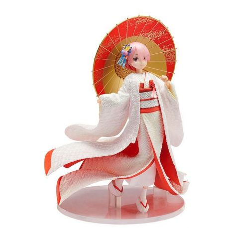 Re:ZERO -Starting Life in Another World- figurine 1/7 Ram -Shiromuku- Furyu