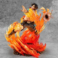 One Piece statuette P.O.P. NEO-Maximum Portgas D. Ace 15th Anniversary Limited Ver. Megahouse