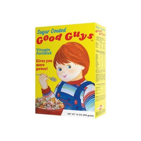 Chucky la poupée de sang réplique 1/1 boîte de céréales Good Guys Trick Or Treat Studios