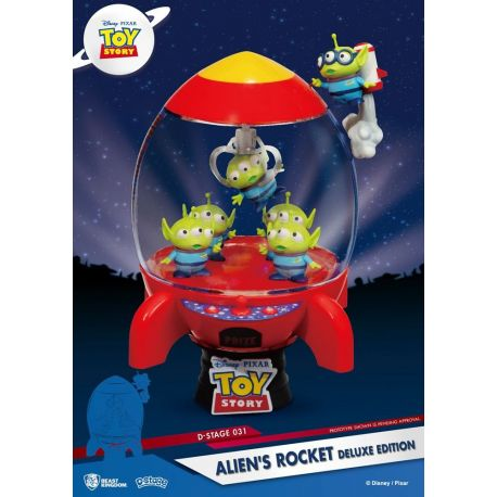 Toy Story diorama D-Stage Alien's Rocket Deluxe Edition Beast Kingdom Toys