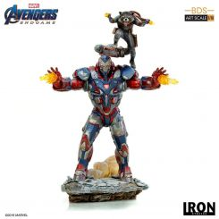 Avengers Endgame statuette BDS Art Scale 1/10 Iron Patriot & Rocket Iron Studios