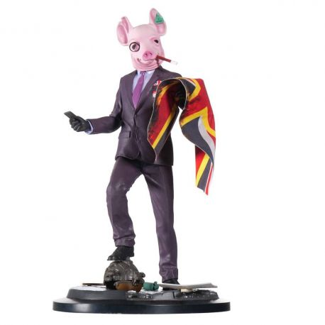 Watch Dogs Legion figurine Resistant Of London UBICollectibles