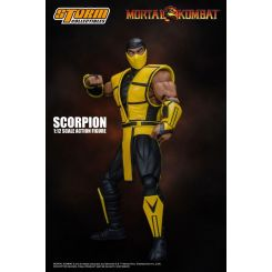 Mortal Kombat figurine 1/12 Scorpion Storm Collectibles