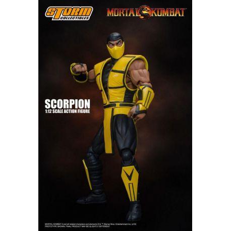 Mortal Kombat figurine 1/12 Scorpion Storm Collectibles