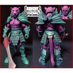 Mythic Legions: Wasteland figurine Purrrplor Four Horsemen Toy Design