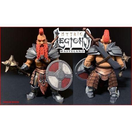 Mythic Legions: Wasteland figurine Redfin Four Horsemen Toy Design