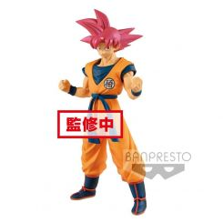 Dragonball Super figurine Cyokuku Buyuden Super Saiyan God Son Goku Banpresto