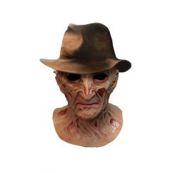 Le Cauchemar de Freddy masque latex Deluxe avec chapeau Freddy Krueger Trick Or Treat Studios