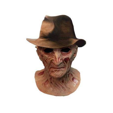 Le Cauchemar de Freddy masque latex Deluxe avec chapeau Freddy Krueger Trick Or Treat Studios