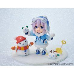 Hyperdimension Neptunia statuette Dekachiccha! Snow Nep Fuwafuwa Vers. Vertex