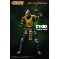 Mortal Kombat figurine 1/12 Cyrax Storm Collectibles