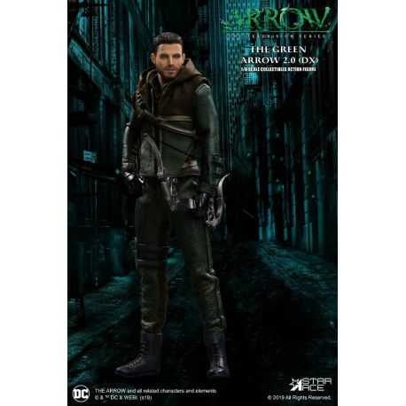 Arrow figurine Real Master Series 1/8 Green Arrow 2.0 Deluxe Vers. Mezco Toys