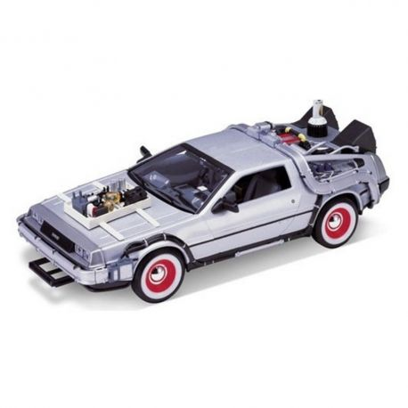 Retour vers le Futur III DeLorean LK Coupe 1981 1/24 métal Welly