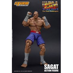 Ultra Street Fighter II: The Final Challengers figurine 1/12 Sagat Storm Collectibles