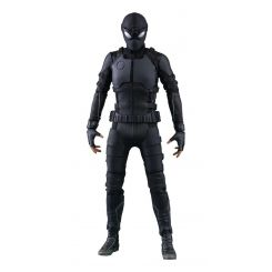 Spider-Man Far From Home figurine Movie Masterpiece 1/6 Spider-Man (Stealth Suit) Hot Toys